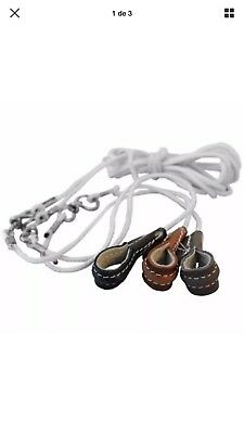 Fowl Tie Out Cords, High Quality Cords, 5FT, Lot of 3 pcs assorted colors