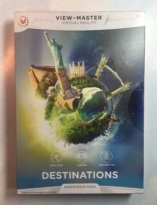NEW View Master Experience Pack Destinations Virtual Reality for smart phone