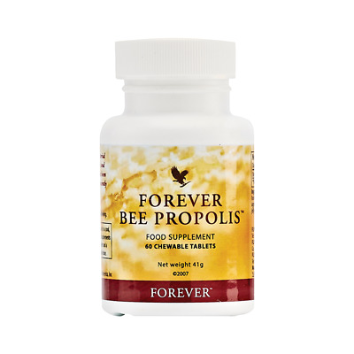 Forever Living BEE PROPOLIS Food Supplement 60 Chewable Tablets NEW & SEALED