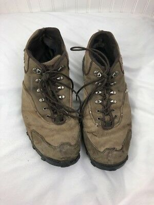 029c796612913 NEW BALANCE 963 Mens 15 Hiking Shoes Trail Walking Brown Tan Leather MW963BR