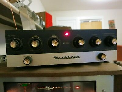Heathkit Sp 2 Tube Preamp Works Xlnt!! Very Clean