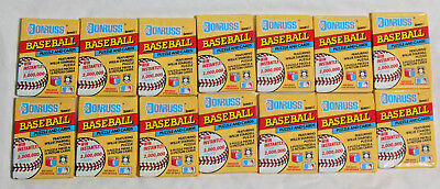DONRUSS SERIES 1 * 1991 Unopened Wax Packs (14) of Baseball Cards & Puzzle Piece