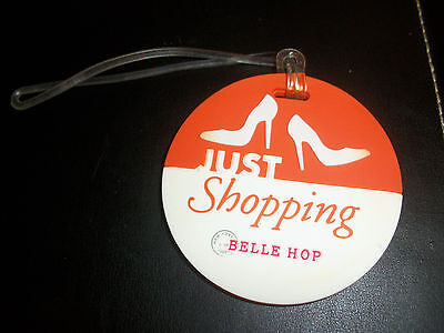 New BELLE HOP Luggage Tag Just Shopping