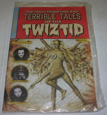 Truly Terrifying And Terrible Tales Of The Twiztid #1 Psychopathic Rare