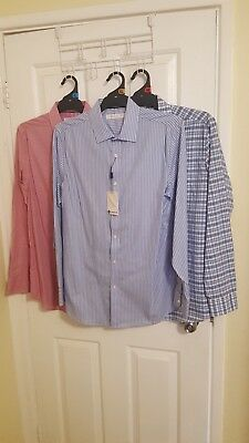 MENS BULK lot Shirts NEW Size 40 B Collection