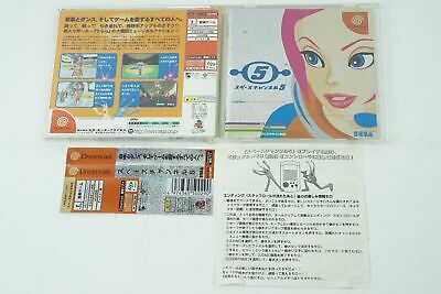 SPACE CHANNEL 5 DC Sega Dreamcast Spine From Japan
