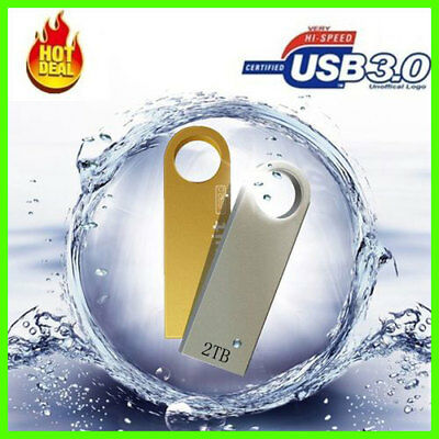 2018 USB 3.0 Flash Drives Metal USB Flash Drives 2TB Pen Drive Pendrive Flash Me