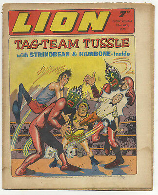 Lion 23rd May 1970 (high grade) Robot Archie, Spellbinder, Paddy Payne