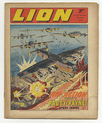 Lion 16th May 1970 (very high grade) Robot Archie, Spellbinder, Paddy Payne