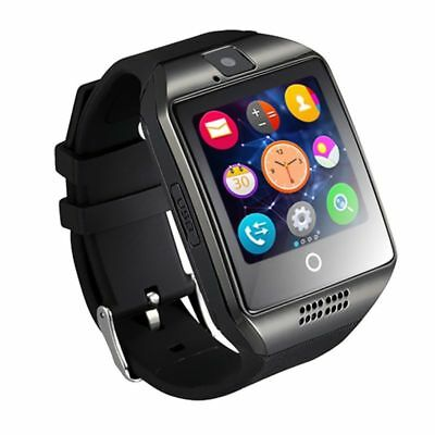 Q18 Reloj Inteligente Bluetooth Smart Watch SmartWatch para Android IOS TF SIM