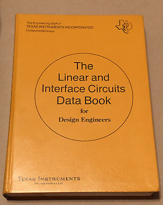 Texas Instruments The Linear Interface Circuits Data Book 1973 FREE SHIPPING