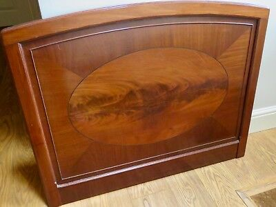 Pair of antique Victorian Single 3ft size Mahogany Wood Headboards