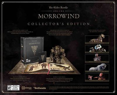 The Elder Scrolls Online: Morrowind - Collector's Edition [PS4]