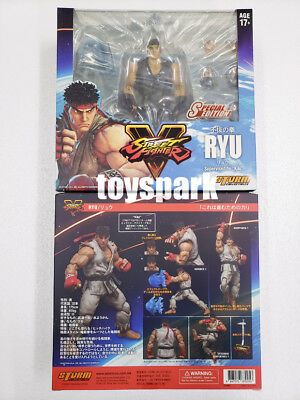 STORM COLLECTIBLES Street Fighter V RYU Special Edition Blue Color action figure