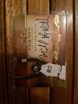 2013-14 Exquisite Auto Michael Ray Richardson /65