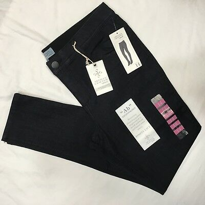 """DEMOCRACY Artisan Crafted """"Ab"""" Technology Jegging Sz 14 Booty Lift Blue Jeans"""