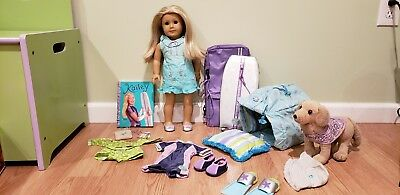 American Girl Kailey Doll 2003 with Collection and Book