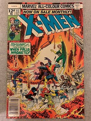 Marvel Comics Uncanny X-men #113 Vol. 1 September 1978