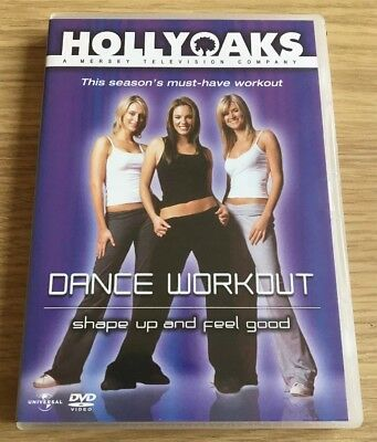 The HollyOaks Girls Fitness DVD (Dance Workout) **FREE POSTAGE**