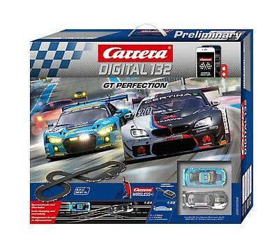 Carrera Digital 132 GT Perfection Startset mit Wireless Reglern 30198