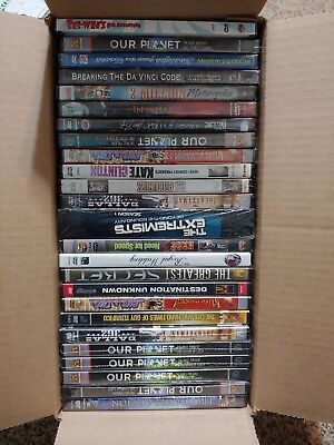 Wholesale Lot of 25 New DVD's All Pictured B-1001