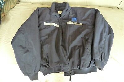 Vintage Continental Express XL Reflective Fleece Lined Jacket w/Embroided logo