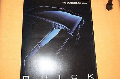 The Buick Book 1987 Buick sales Book Full Line Grand National T-Type GNX