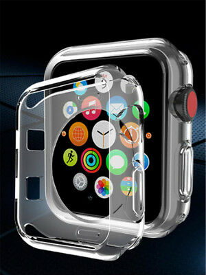 Soft Slim TPU Protection Bumper Case Cover For Apple Watch 40mm Series 4