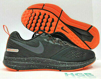 Nike Air Zoom Winflo 4 Shield Mens Black Reflective Running Training  921704-001 88a21709a