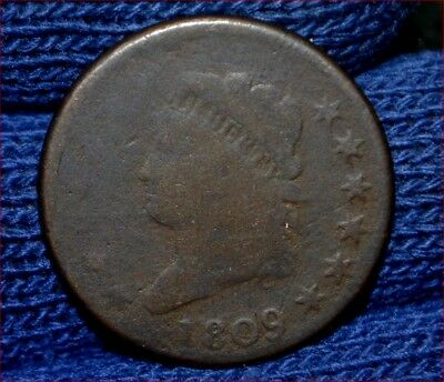 1809 LARGE CENT**Strong Full Date** FREE S/H