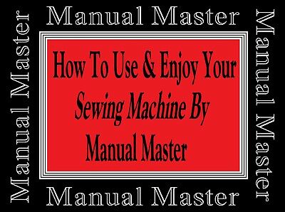 Models 451,751 & XL 791 Jones Brother  sewing machine instruction Manual Booklet