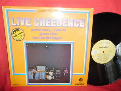 CREEDENCE CLEARWATER REVIVAL Live Creedence LP 1975 FRANCE EX+