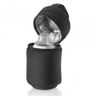 Tommee Tippee 1x Bag  Closer to Insulated Thermal Bottle Baby Feeding BLACK