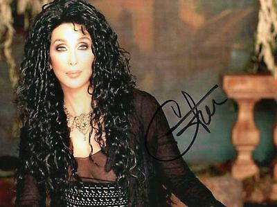 CHER AUTOGRAPHED SIGNED A4 PP POSTER PHOTO PRINT 5