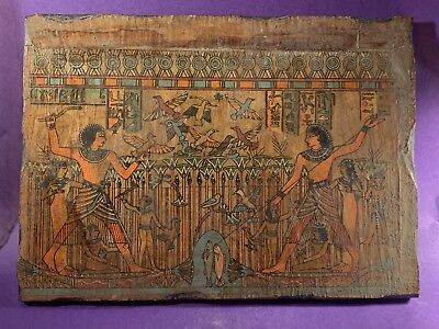Amazing - Very Beautiful - Circa 1500-332Bc Ancient Egyptian Relief Wall Art