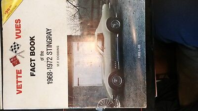 Vette Vues Fact Book 1963-1967 Corvette Sting Ray MF Dobbins 3rd  edition USED