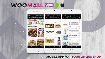 Mobile App for Your Online Store, eCommerce Business  - Android & Apple App