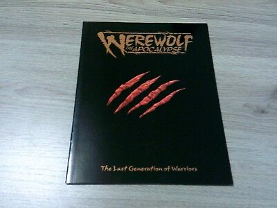 Werewolf The Apocalypse The Last Generation of Warriors Background White Wolf