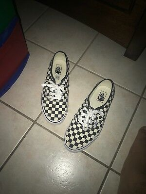 c8abc7a584ed6a VANS GOLDEN COAST Authentic Checkerboard Black White - Size 11 Skate ...