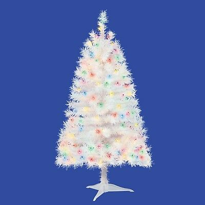 4 Ft Christmas Tree.4ft Pre Lit Indiana Spruce Artificial Christmas Tree With 105 Multicolored Light