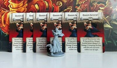 QUEEN SEVERA (Willow) - Zombicide Black Plague / Zombicide Green Horde