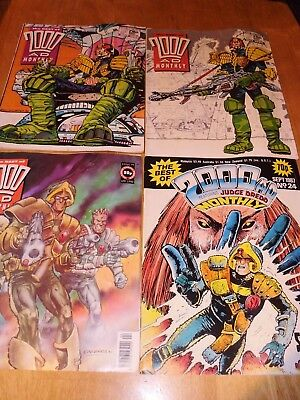 The Best of 2000 AD Monthly Comics (X4)