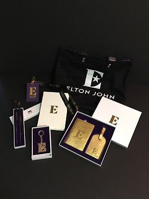 ELTON JOHN • Official Farewell Yellow Brick Road • Limited Edition VIP Package