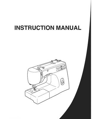 Sewing Manuals Instruction Sewing Machine Accessories Sewing
