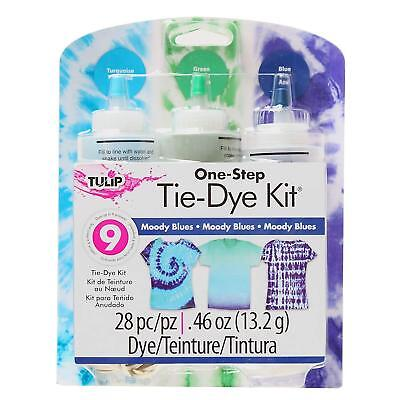 Tulip One-Step Tie-Dye Kit Med Moody Blues