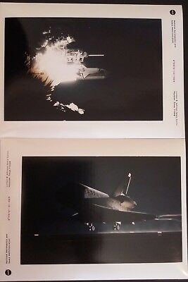 NASA STS-72 – lot de 2 photos officielles vintage original prints