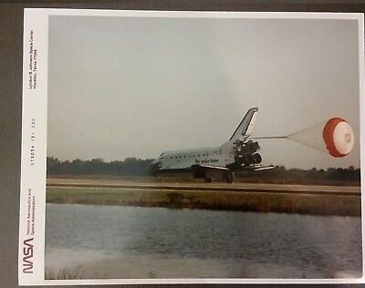 NASA STS-54 - Photo officielle vintage original prints