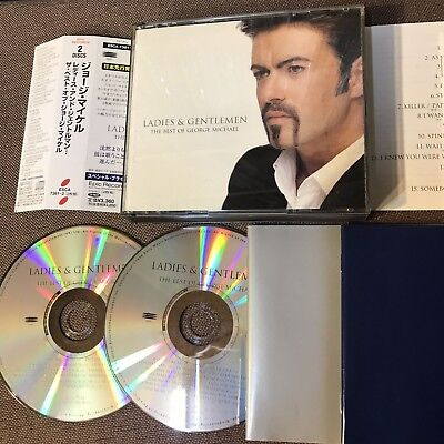 GEORGE MICHAEL Ladies & Gentlemen The Best of JAPAN 2CD ESCA7381~2 OBI+2 BOOKLET