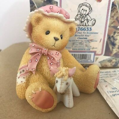 Cherished Teddies Cherished 476633 Reach Out To Someone Around You Toy Horse