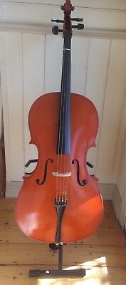 Mavis Cello full size with stand, soft and hard case